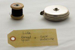 Thread spool & tape measure