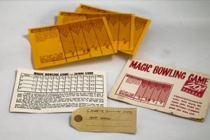 Cigarette bowling game