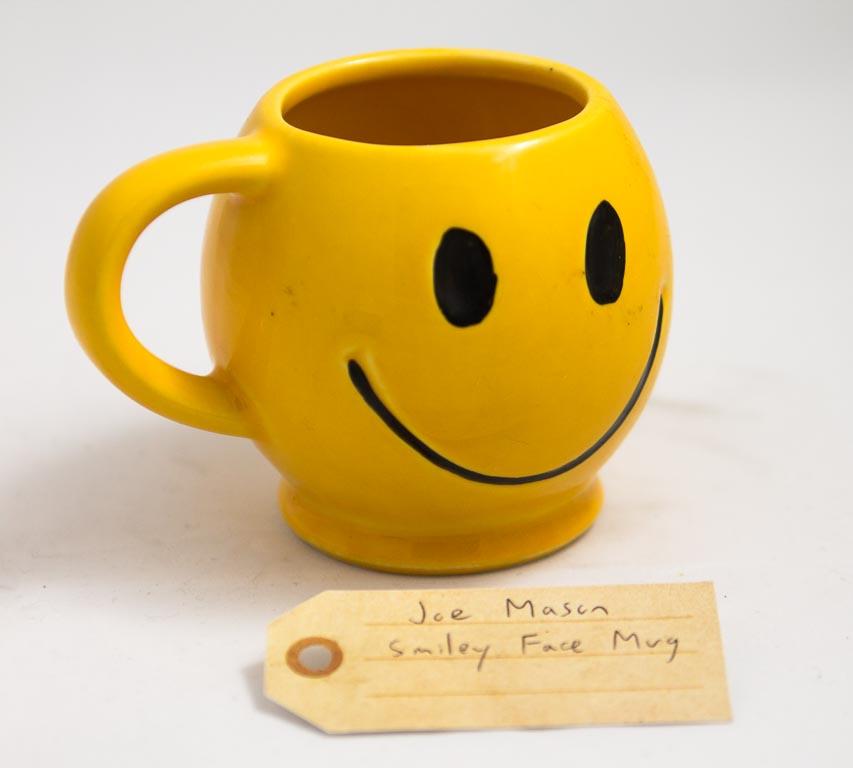 Smiley Face Mug That Belongs In A Museum