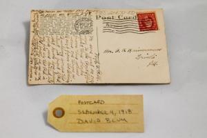 Postcard: September 4, 1918