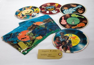 Cereal box record albums