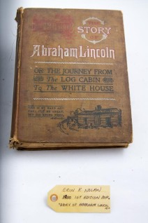 "1900 1st edition book, ""Story of Abraham Lincoln"""