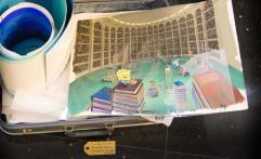 SpongeBob animation cells
