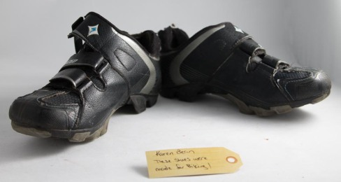 These shoes were made for biking!