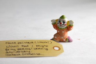 Clown figurine