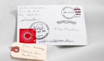 Antarctica postcard