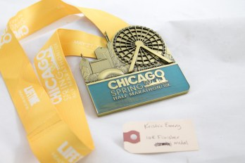 10k finisher medal