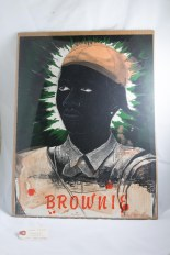 """Brownie"" lithograph"