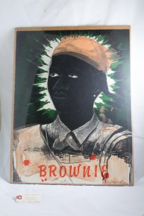 """""""Brownie"""" lithograph"""