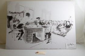 Emmett Till drawing