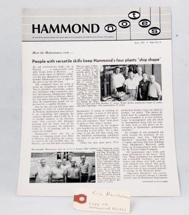 Hammond Notes